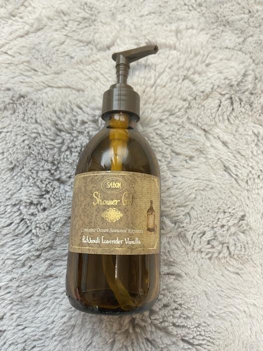 シャワージェル パチュリラベンダーバニラ SABONの香りに包まれるボディーソープ
