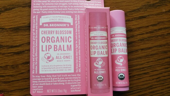 リップバームCH(チェリーブロッサム)リップバーム 乾燥した唇をしっかり保湿