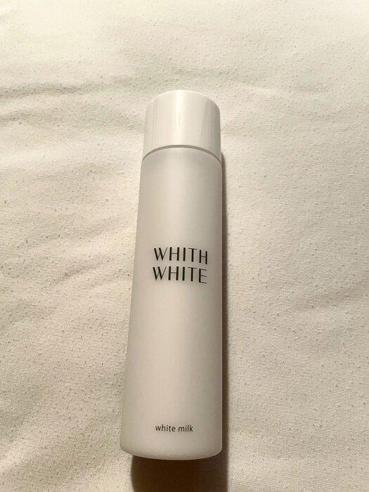 ホワイトニングミルク|保湿力バッチリ、少し出しにくい