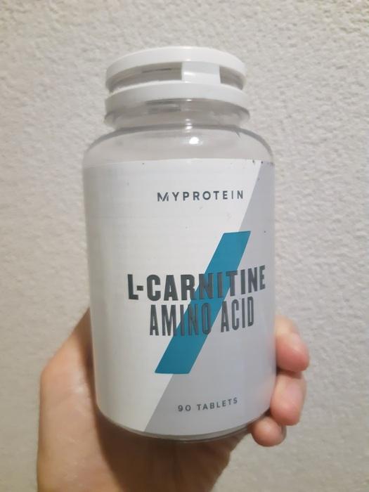 マイプロテイン L-カルニチン 90錠 |いつも飲んでいるプロテイン