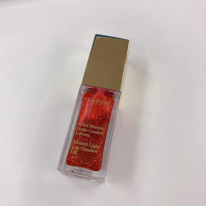 クラランス コンフォートリップオイル 09レッドベリーグラム 苺ジャムみたいな潤いオイルリップ