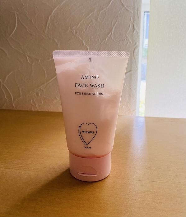 アミノフェイスウォッシュ|マイルドな洗い心地の洗顔料