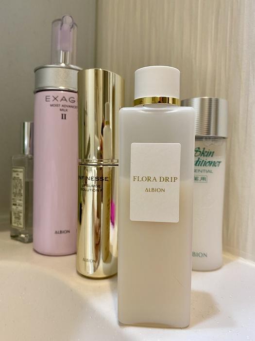 アルビオン/フローラドリップ 化粧水ではない、化粧液!使用後にすぐ分かる効果、美容界で確立